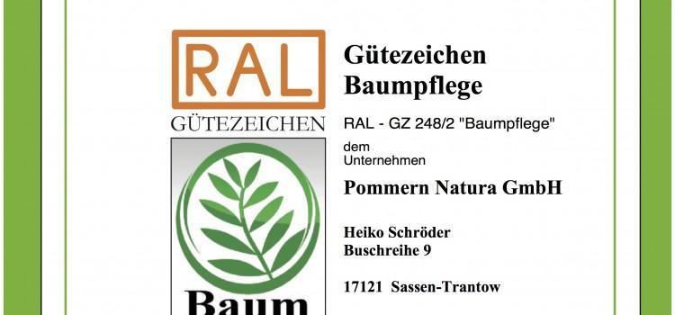 Wir sind zertifiziert mit dem RAL-Gütezeichen!