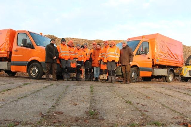 Das Team der Pommern Natura wünscht einen guten Start ins neue Jahr!